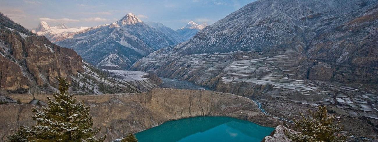 Gangapurna Lake Annapurna Circuit