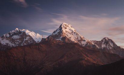 Annapurna Panorama View from Ghorepani