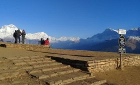 Dhaulagiri Himal view from Poon Hill