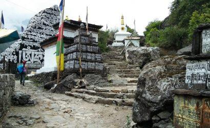 Everest Trek Route