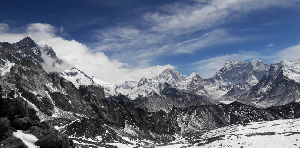 Everest View from Kongala Pass