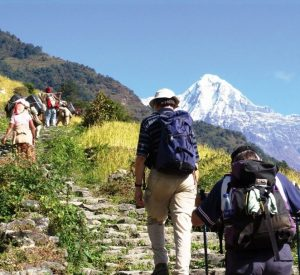 Hiking in Pokhara