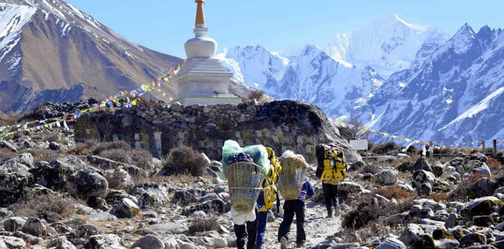 Langtang Trek Route