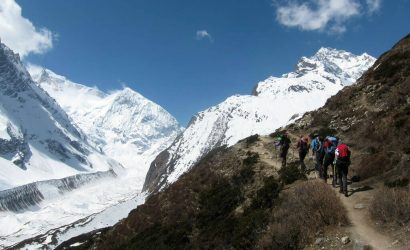 Manaslu Trek Route