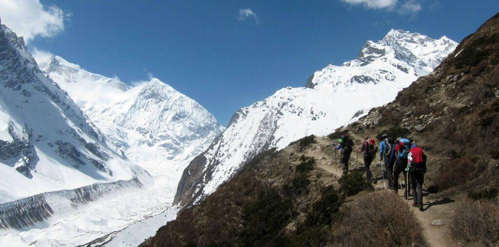 Manaslu Trek Route