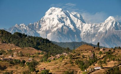 Mt. Annapurna view from Panchase Hill