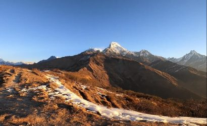 Muldai View Point Trek Route