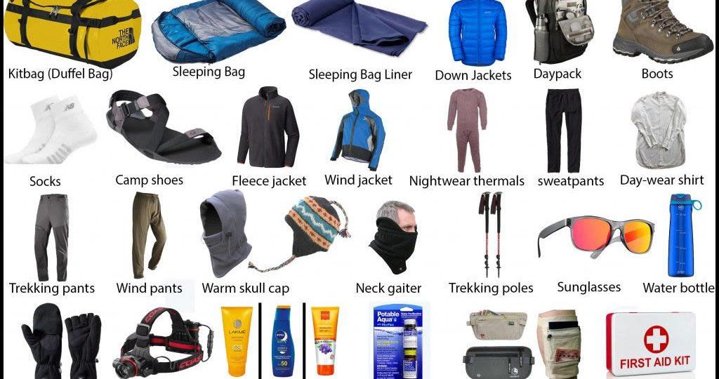 Nepal Trekking Packing List