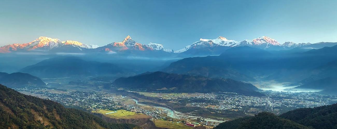 Pokhara Valley View from Sarangkot