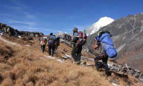 Ruby Valley Trek Route
