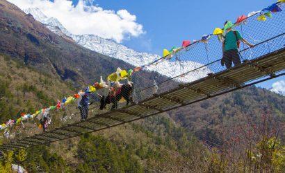 Suspension Bridge Everest Base Camp