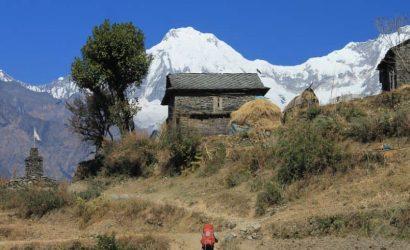 Ganesh Himal Trek Route