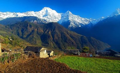 Himalaya view from Sikles Ghale Kharka