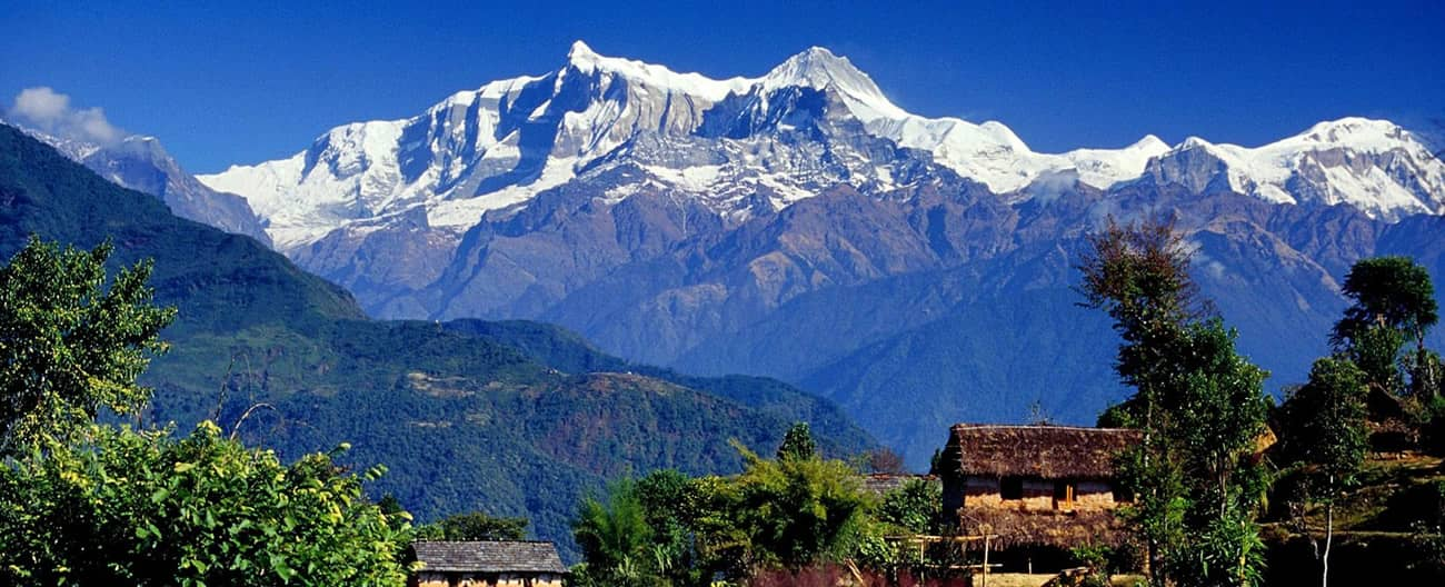 Himalaya View from Sirubari Village
