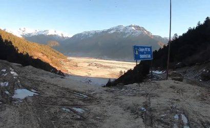 Road to Dhorpatan