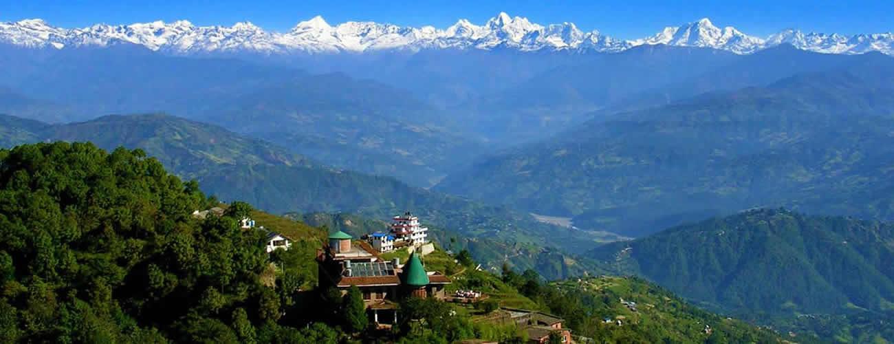 Himalaya View from Nagarkot